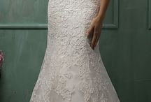 Wedding gown samples
