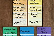 Ways to organize and clean efficiently