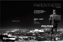 PARENTHESIS MAGAZINE / IDENTITY FOR PARENTHESIS MAGAZINE | ISSUE 0 / MOCK-UP DESIGN