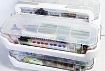 My Craft Storage Ideas / Various ways I store my crafty goodies