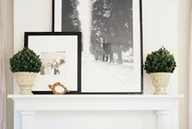 styling mantelpieces