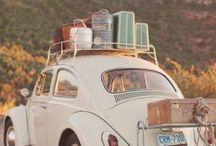 Ne cherche pas le chemin du bonheur, car le chemin c'est le bonheur. / Iedereen heeft wel goede herinneringen aan een reis die met de auto is gemaakt. Lekker de wijde weg op, muziekje op, ramen open, onderweg kom je van alles tegen. Wat een heerlijk vrij gevoel! Met de auto op vakantie. Zoek niet naar de weg van geluk, want de weg zelf is het geluk.  / by Fi Vakantiehuizen
