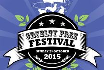Cruelty Free Festival 2015 / Be a part of CFF 2015! Look at our e-flyers and event information here!