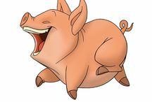 돼지캐릭터