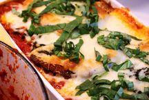 Pasta and sauce