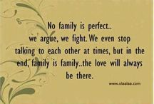 Family is family / Quotes and funnies about all things family❤