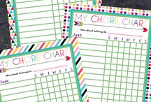 Charts for kids routine