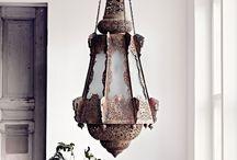 Lampe, lustre et lampadaire