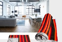 delCane dog blankets / Fancy dog blankets made of premium quality fabrics characterized by varying textures. All delCane design! A stylish addition to any interior!