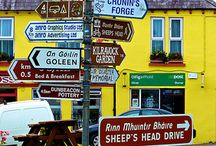 Irish Signposts / Signs from ireland, signposts in Ireland