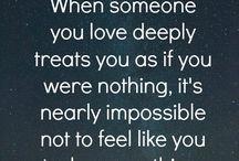 feeling like nothing