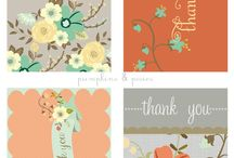 Stationery - Thank You Cards