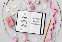 ways to fill your notebook