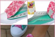 Handmade shoes and flip flops
