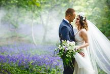 Creative Woodland Wedding Inspiration with Bluebells