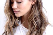 Mellan färg frisyrer