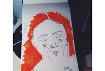 stuff i draw / by Anne Oetling
