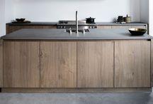 Keuken / Keukeninspiratie, vormgeving en materiaal
