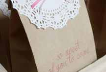 diy cookies / cake packaging