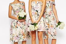Alternative bridesmaid's dresses