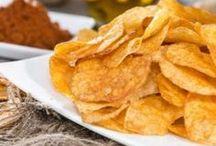 chips sans huile au micro onde