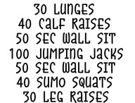 EXERCISES...ya know that thing I NEED to do!!