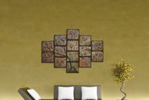 ceramic wall picture / kerámia falikép / Hand made artistically designed wall pictures.