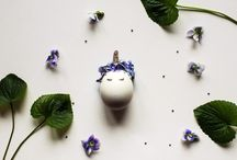 Easter Unicorn Egg / #DIY #easter #decoration #egg #unicorn #flower