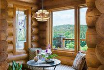 log homes / by Gwen Jones