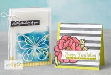 Blog posts / On my website, I show you how to make amazing professional handmade cards and other papercraft projects including scrapbooking, using Stampin Up quality, co-ordinating products. Grab your free video tutorial at www.natalieoshea.co.uk