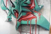 Street Art + Graffiti / Street art, graffiti, graphic arts