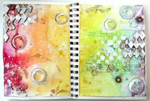 Sketchbooks and pages