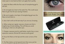 Makeup Tips / Great ideas to help us out with our makeup