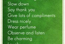 Things that make me smile!