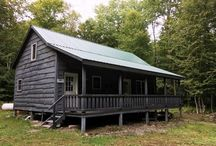 Camp Kasoag, Williamstown NY / This 20 x 38' cabin in Williamstown NY on 50 wooded aces is fully finished with a kitchen, living room, bathroom with a full loft bedroom. Direct access to trails for ATV riding, XC skiing and hiking. Located near the Salmon River, the Salmon River Reservoir and Kasoag State Park, this property would make a great camp for sportsmen or families who enjoy all kinds of recreation. Nearby access to snowmobile trails. Rolling woodlands on a seasonal, gravel road. Priced at $149,900.