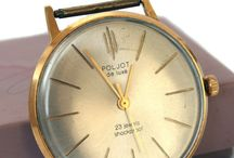 prodam stare hodinkyPOLJOT de luxe, 23 jewels shockproof, c.2209, AU20, Gold…