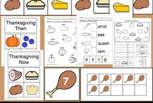 Thanksgiving Ideas for all ages / Look here to find a variety of Thanksgiving themed activities for all ages.  Activities range from ELA, math, social studies, art and science!