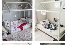 łóżko dla Kornelki