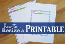 At Home: Planners & Disc Notebook Printables