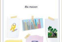 Ma maison / Jeux en chemise sur le thème de la maison, par l'Association Carpe Diem