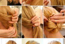 creative hair do