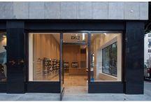 Pappröhren Haben Im Laufe Dieser Aesop-Store In Downtown LA Verwendet Worden