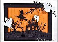 Hjemmelavet halloweenkort