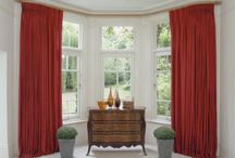 Bay Window Curtain poles / Made to Measure curtain poles from Silent Gliss