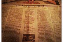 Zeitungsschnipsel / Artikel über alles mögliche - Erinnerungsstützen