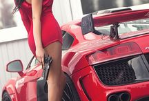 Females and fast cars