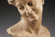 scultura volti