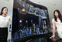Double-sided flatscreen TV LG the future