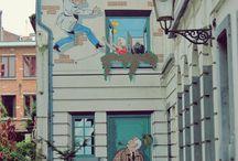 Street Art / sztuka ulicy, murale