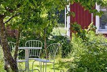 Skandinavian old houses